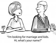 I'm Looking For Marriage!