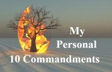 10 Commandments To Undo My Negative Thinking